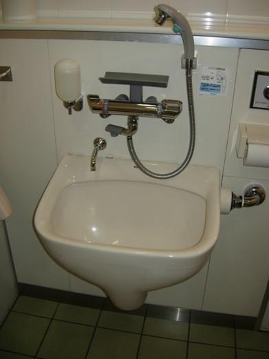 汚物流しシャワー型